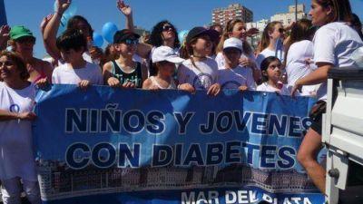 """Caminaron por la diabetes para concientizar y prevenir sobre esta enfermedad """"silenciosa"""""""