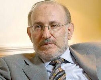 Scioli muestra en Bah�a, al ex vicepresidente del Banco Central de Fernando De la R�a, Mario Blejer