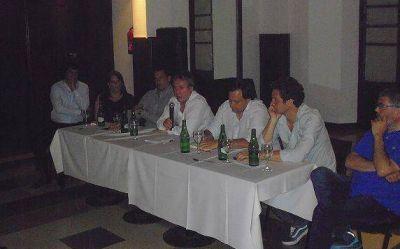 Peirano explicó la agenda del desarrollo de Scioli en San Isidro