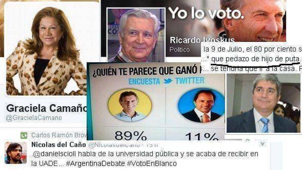 Los políticos de San Martín vivieron (y polemizaron) el debate en las redes sociales