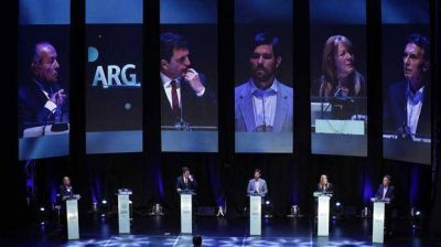 Cómo vieron el debate los candidatos que no superaron la primera vuelta
