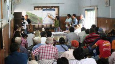 El Gobierno propone titularizar 300 mil hect�reas de la Reserva Grande �equitativamente entre las tres etnias�