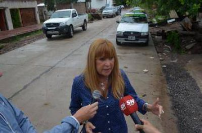 Ayala volvi� a denunciar �falta de limpieza de canales por parte de la APA y ausencia de desag�es en obras provinciales�