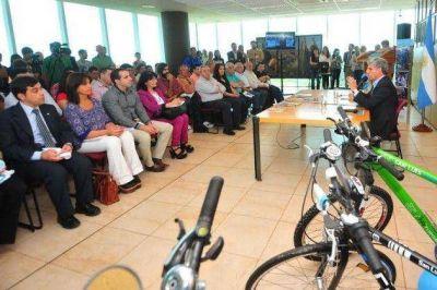 """Poggi: """"El Plan TuBi es transversal, abarca el medioambiente, la educación, la salud y el trabajo"""""""