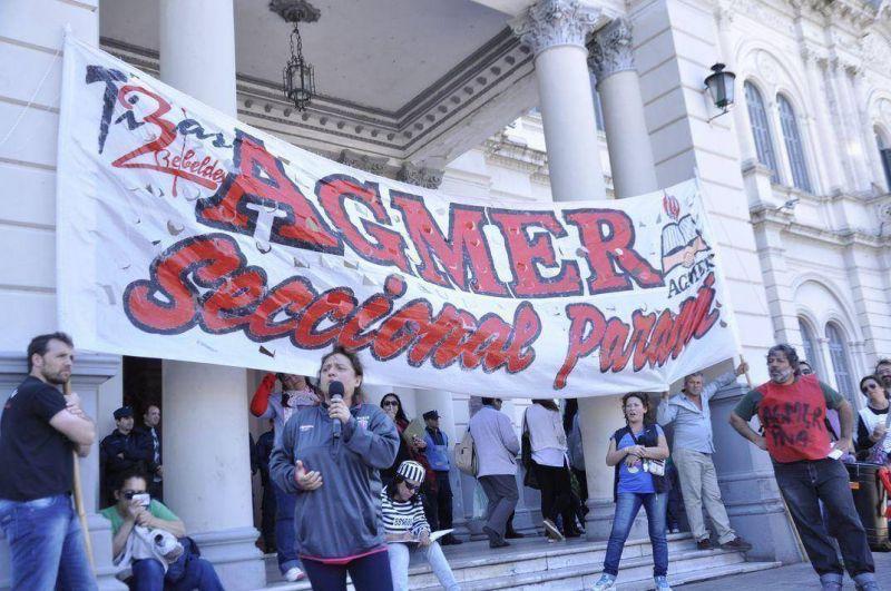 Este viernes los docentes nucleados en Agmer Paraná harán asamblea en las escuelas