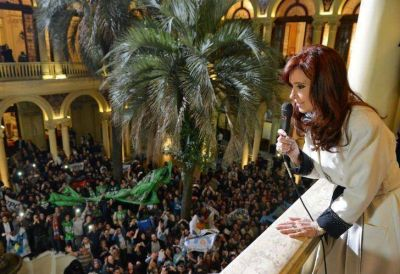 Cristina homenaje� a N�stor por el D�a del Militante: