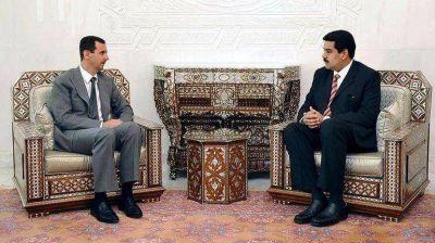 Nicolás Maduro defendió a Bashar al Assad: