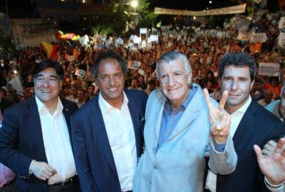 En San Juan, Scioli reiteró cuestionamientos a Macri