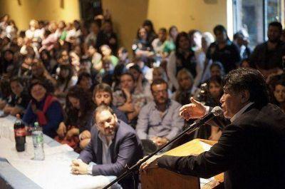 Plenario del FPV de San Fernando con Zannini y