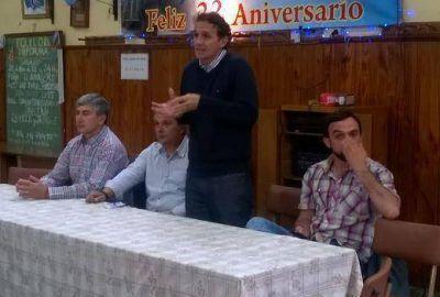 Katopodis visitó el Centro de Jubilados Villa Progreso