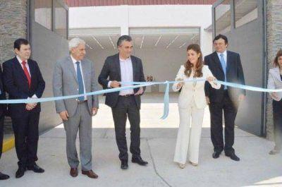 La gobernadora inaugur� Agencia Regional y Centro de Destrucci�n de Numerarios del BCRA