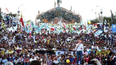 Mauricio Macri cerr� su campa�a en Jujuy: