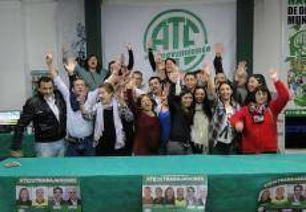 Con Marelli reelecto, asume la nueva comisión directiva de ATE