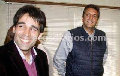 Sergio Massa y Malena estarían en la asunción de Facundo López
