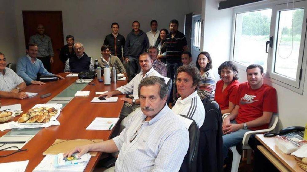 Pinamar: Esteban Santoro y su primera reunión con el equipo de trabajo