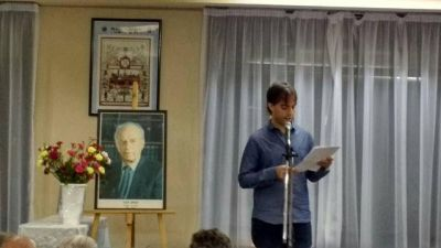 Homenaje de Meretz y Avodá a Itzjak Rabin en el 20° aniversario de su magnicidio