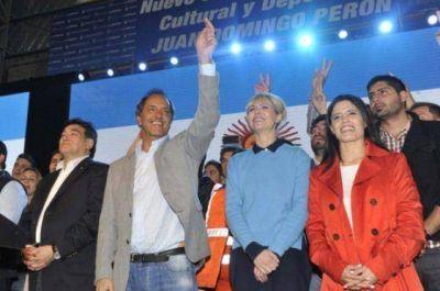 """La Matanza: Scioli cerró su campaña al grito de """"¡Vamos Argentina!"""""""