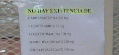 Denuncian que faltan medicamentos en el Borda