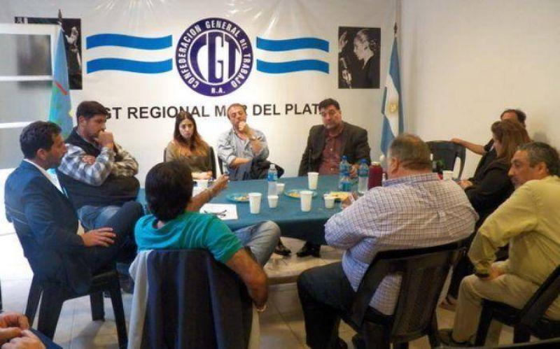 La Superintendencia de Riesgos de Trabajo y la C.G.T. Mar del Plata acordaron un plan de acci�n