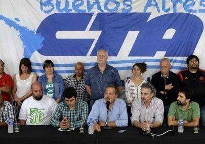 La CTA Provincia de Buenos Aires cuestionó a Vidal por poner en duda el pago del aguinaldo y amenazar con despidos