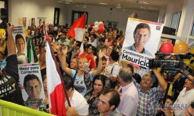 La victoria de Cambiemos �revolucion� de alegr�a el b�nker capitalino de ECO
