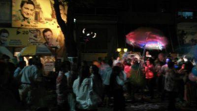 Festejos en el búnker de Cambiemos en Luján