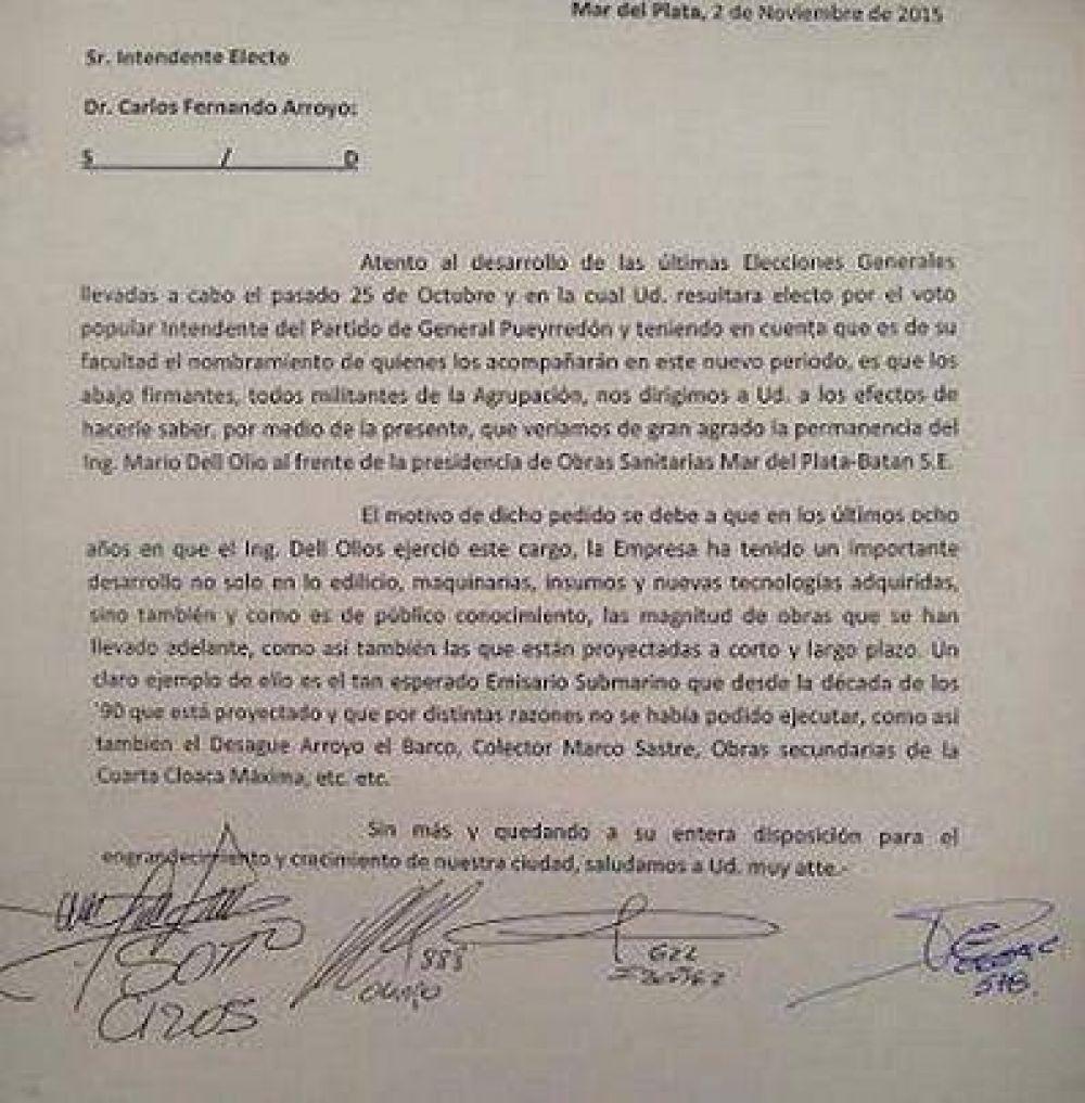 El SITOS presiona a Arroyo por la continuidad en OSSE y para que siga la fiesta