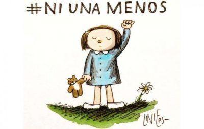 Nueva marcha #NiUnaMenos en Salta