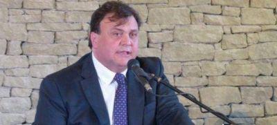 Belloni reasume como intendente el 8 de diciembre en El Calafate