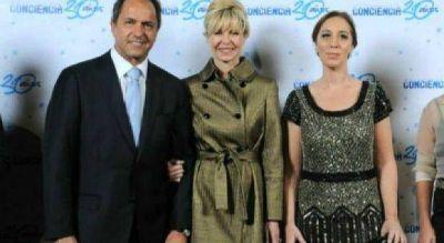 Scioli y Vidal se reúnen en Gobernación para avanzar en el paso de mando