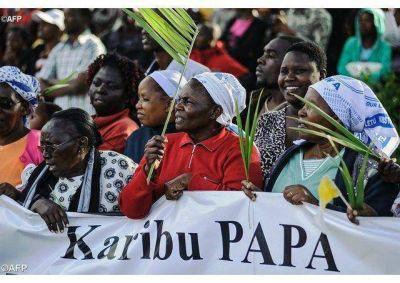 ¡Estén firmes en la fe! ¡No tengan miedo! porque ustedes pertenecen al Señor, exhortó Francisco en Nairobi