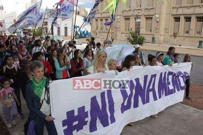 Nueva marcha de #NiUnaMenos en el marco del Día Contra la Violencia hacia las Mujeres