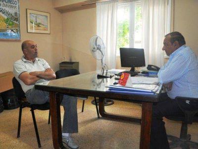 Claromecó: Sánchez se reunió con Ávila, Rens y Trybuchowicz