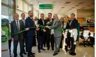 Se inauguró nuevo edificio para la sucursal Guernica del Banco Provincia