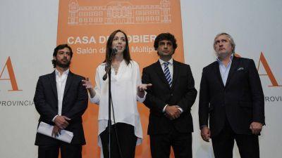Vidal aprovechó la transición para mostrar su gabinete