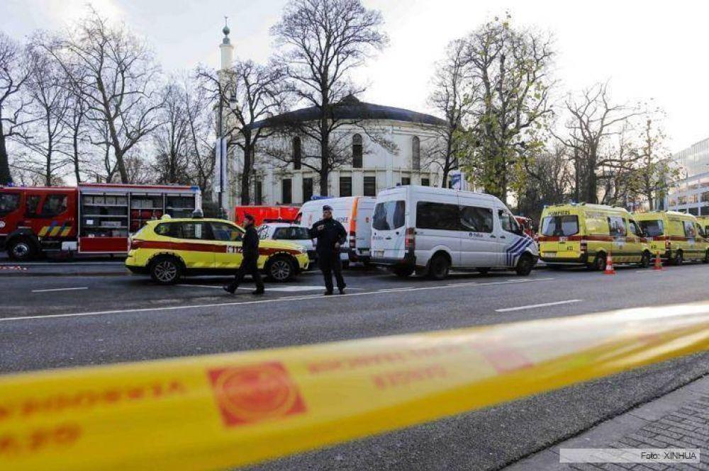 Evacuaron la principal mezquita de Bruselas