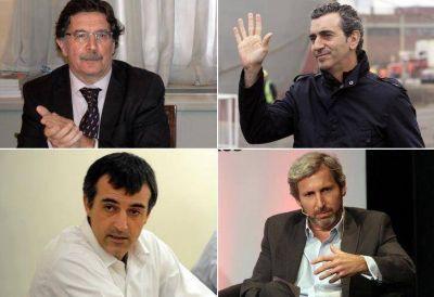 Randazzo y Sileoni se reunieron con Frigerio y Bullrich para iniciar la transición