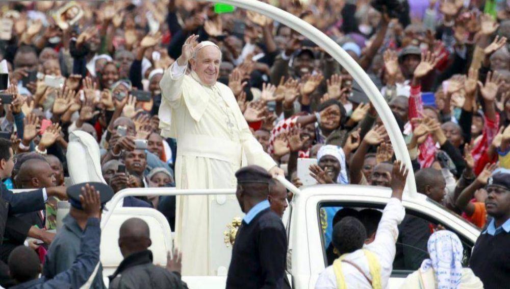 Programa del viaje del papa Francisco en Kenia y Uganda