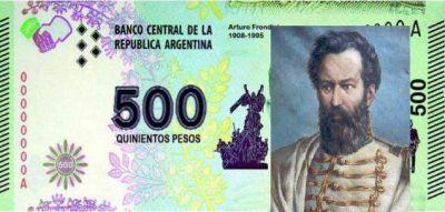 ¿Güemes podría ser la imagen del nuevo billete de 500?