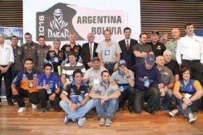 Urtubey estuvo en la presentación del Dakar 2016 que pasará por Salta