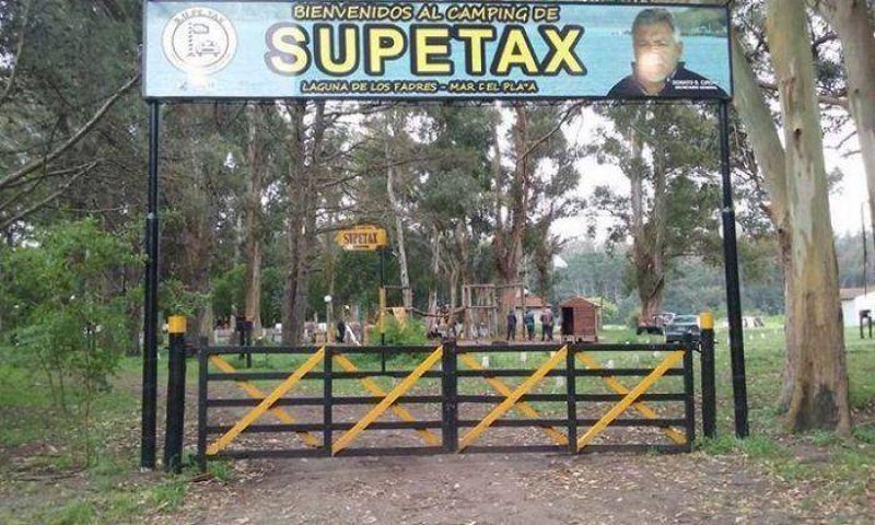 Donato Cirone mostró su satisfacción por el predio que obtuvo SUPETAX