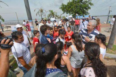 Habilitaron las playas públicas de la ciudad