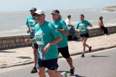 """Pulti corrió los 10K y destacó la realización de """"este evento importante para la ciudad"""""""