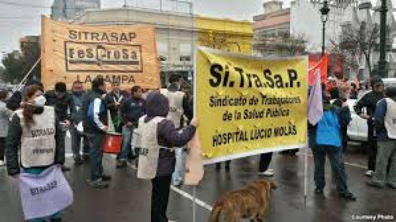 El SITRASAP inicia juicio a la Provincia para cobrar los descuentos por paros