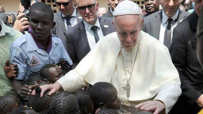 Movilizada, Bangui salió por un día del olvido