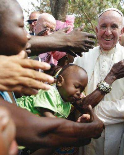 Francisco, en uno de los países más pobres de África