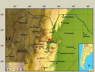 Dos fuertes sismos asustaron a los salteños