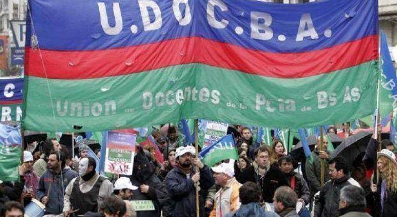 UDOCBA despide a Scioli con un paro de 24 horas