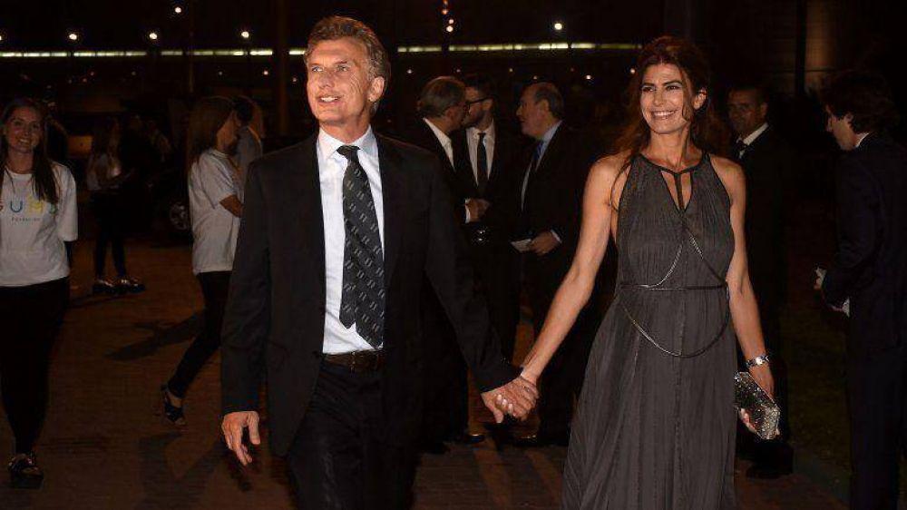 Gabriela Michetti reunió a Mauricio Macri y al futuro gabinete en una multitudinaria cena