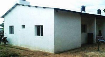 Bella Vista: entregaron casas en el barrio Norte